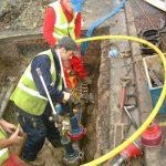 پروژه لوله پلی اتیلن گازی