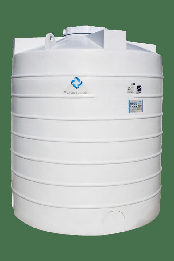 مخزن پلاستیکی ۵۰۰۰ لیتری سه لایه عمودی بلند